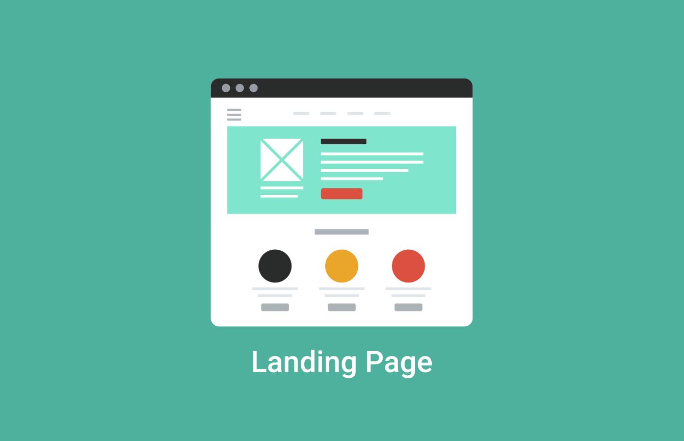 Design a landing page